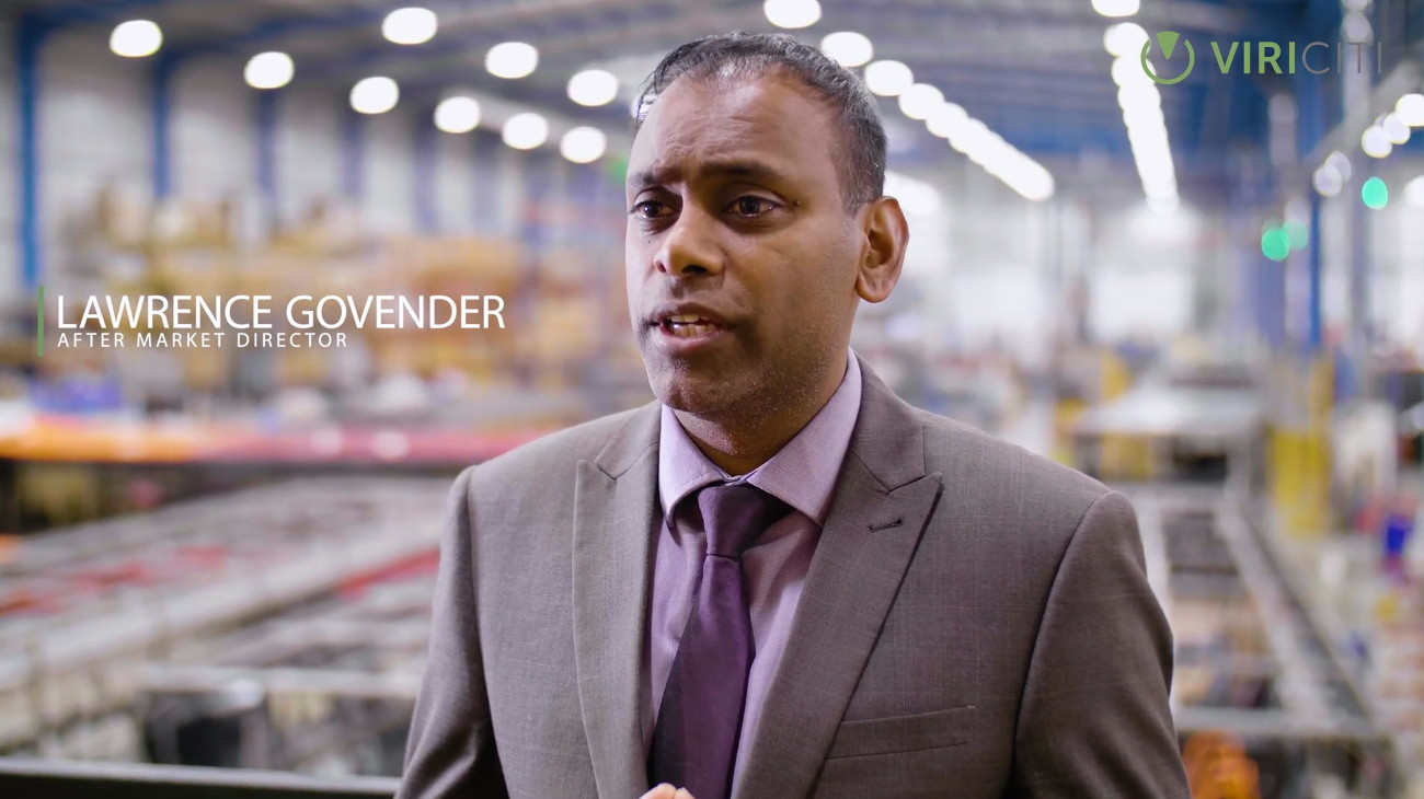 Customer succes video in which after market director of Optare explains how ViriCiti's bus telematics has helped them in operating their electric fleet.