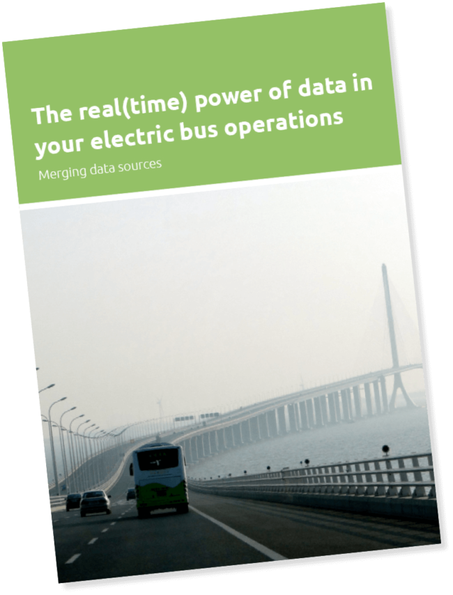 The real time power of data in your electric bus operations