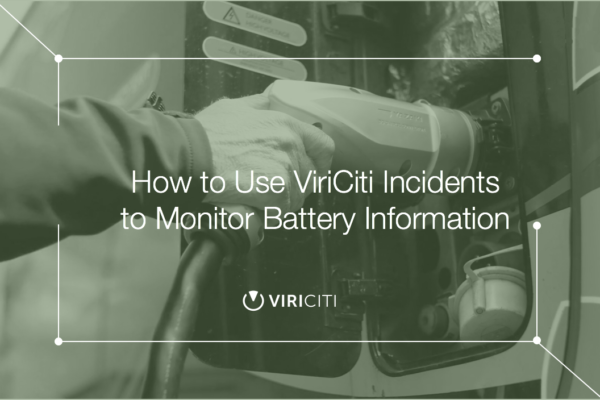 How to use incidents to monitor battery information